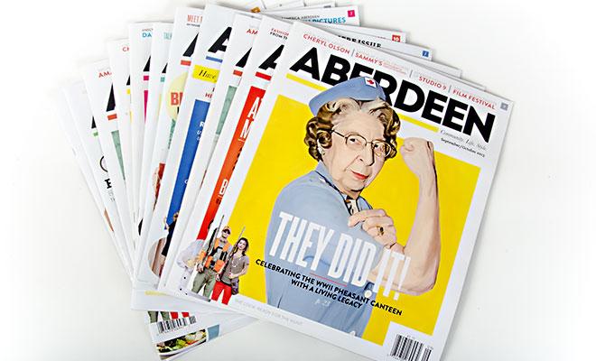 advertising in Aberdeen Magazine