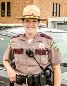 Cortney Paul, Highway Patrol Officer