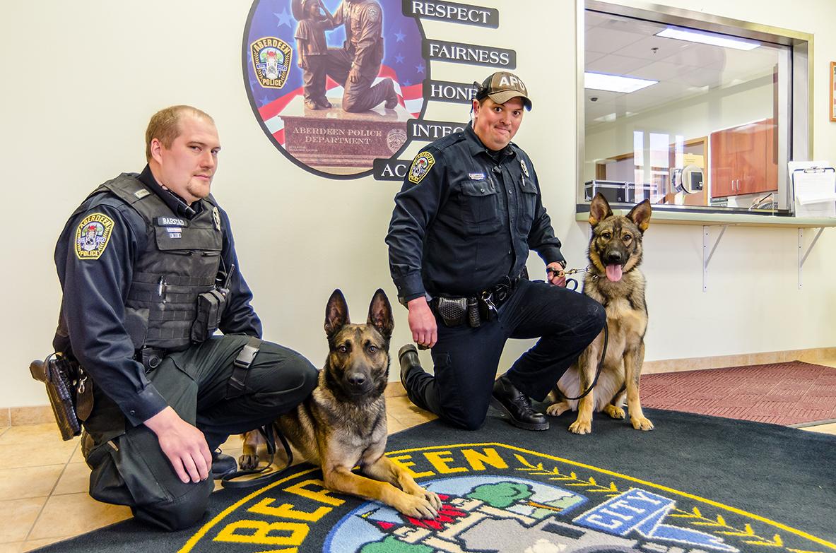 K9 crime fighters