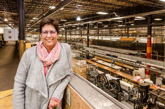 Site Manager Sarah Mann