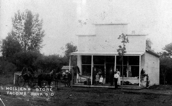 Holien's Store at Tacoma Park