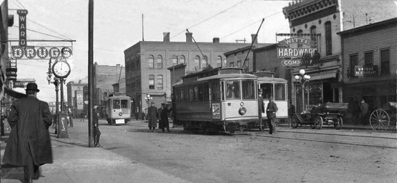 Streetcars before the bus boom